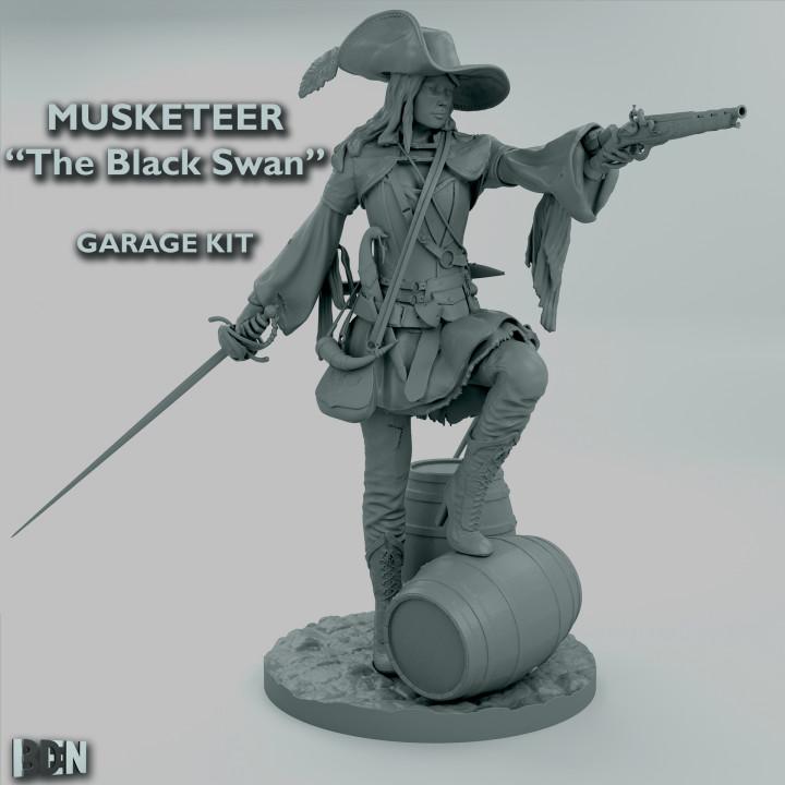 """Musketeer  """"The Black Swan"""" Garage Kit"""