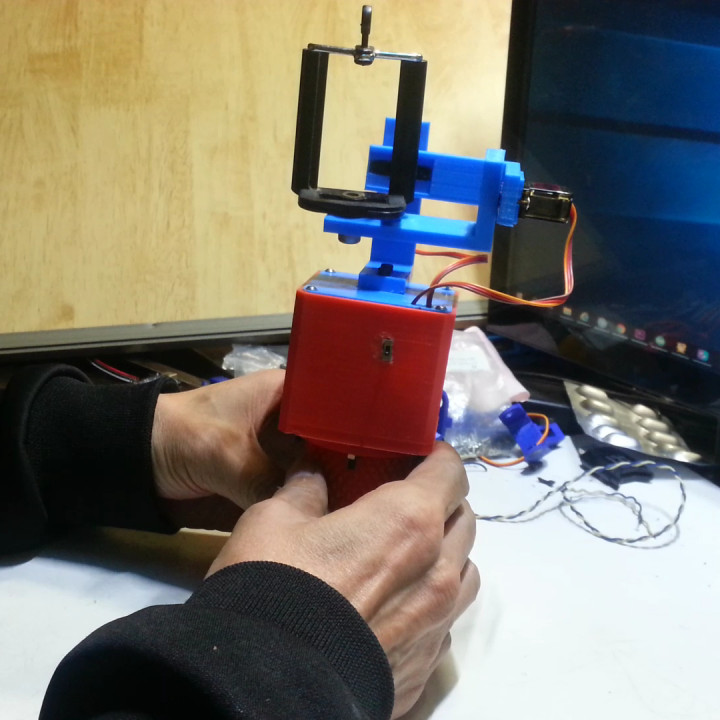 How to make gimbal for action cam[Stabilizer]
