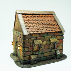New Roofs (differend sizes)  for house D&D and warhammer miniatures  28mm