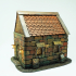 New Roofs (differend sizes)  for house D&D and warhammer miniatures  28mm image