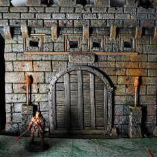 Moving Gate  for D&D  and Castle