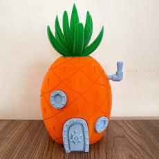 Picture of print of Spongebob Pineapple House Coinbank