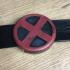 X-Men classic belt buckle image
