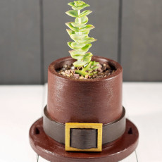 Pilgrim Hat Planter