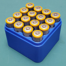 Picture of print of 16x AA Battery box