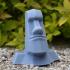 Easter Island Moai Statue Head image