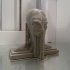 Alien Bust Figurine Reproduction Alien found in the 50s in South America image