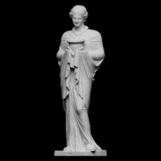 Statue of priestess or Muse