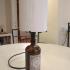 Porta lampada litofania - lamp stand lithophane image