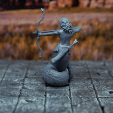 Picture of print of Medusa - Tabletop Miniature