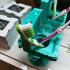 crocodile toothbrush holder image