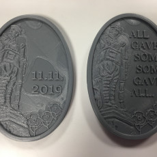 Soldier Plaques - Poppy Day 2019