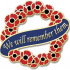 We Will Remember Them Poppy Wreath - Poppy Day 2019 image