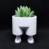 Leggy Planter / 3D printed planter image
