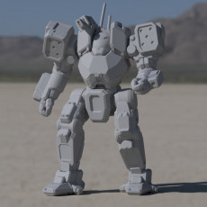 ACH-Prime Arctic Cheetah for Battletech