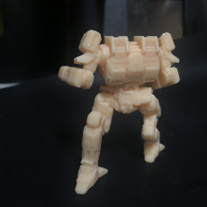 Picture of print of ARW-Prime Arctic Wolf for Battletech
