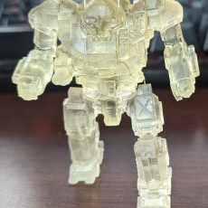 Picture of print of AS7-D Atlas for Battletech