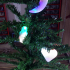Xmas light tree decoration image