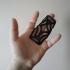 Moldable Double Finger Splint image