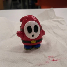 Picture of print of Shy Guy