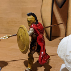 Picture of print of Spartan Soldier