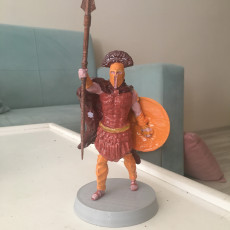 Picture of print of Leonidas King of Sparta