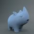 Decorative Rhino art sculpture image