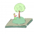 Le Petit Prince's planet has only one tree image