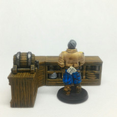 Picture of print of Barkeeper