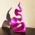 Purple flame decorative object image