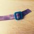 Festival wristband removable clip image