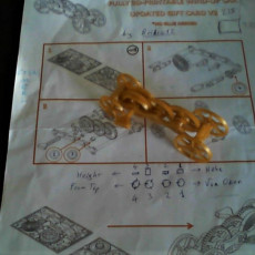 Picture of print of Fully 3D-printable wind-up car gift card