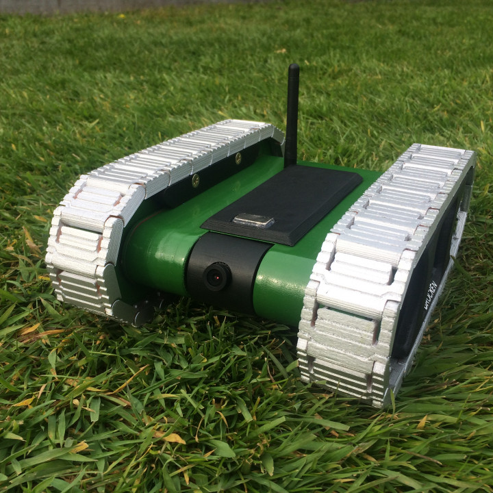 RC FPV tank rover