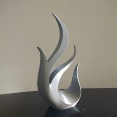 decorative flames