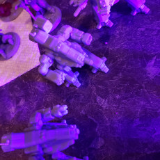 Picture of print of BSW-X1, X2 & S2 Bushwacker for Battletech