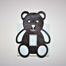 Teddy lightswitch cover