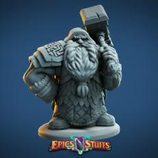 Dwarf Guardian Miniature