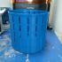 Resin Prints Drain Basket Cylinder image
