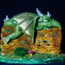 Picture of print of Dreaming Dragon