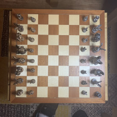 Picture of print of Dragon Chess! Alien Beauty Dragon (The Queen)