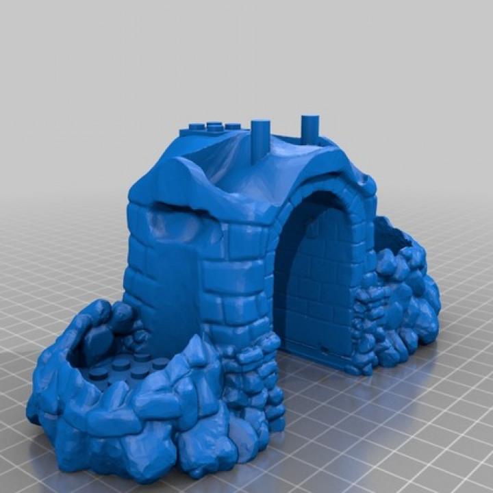 Lego Skull Fort