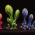 """Tabletop plant: """"Blob Crowd Plant 3 Minis Set"""" (Alien Vegetation 16) image"""