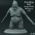 Set of 5 - D&D - Large Scale Miniatures - 1/32 image
