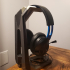 Tall Headphone Stand - no supports image