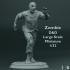 Zombie  - D&D - Large Scale Miniature - 1/32 image