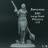 Sorceress - D&D - Large Scale Miniature - 1/32 image