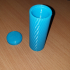 KNURLED CONTAINER 1 image