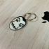 CASA DE PAPEL - Dalì Mask keychain image