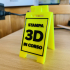 Stampa 3D in corso - mini floor stand image