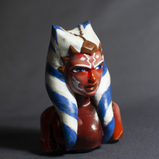 Picture of print of Ahsoka Tano Bust This print has been uploaded by Armand de Laureal